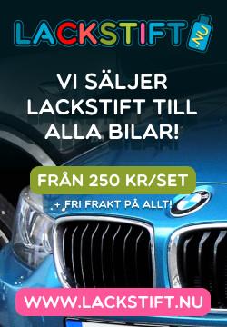 Annonsbanner - Lackstift.nu - Försäljning av bättringsfärg i lackstiftformat till alla bilar